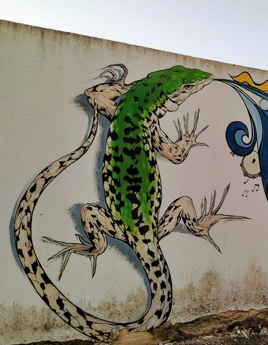 I Murales Che Impreziosiscono Il Salento